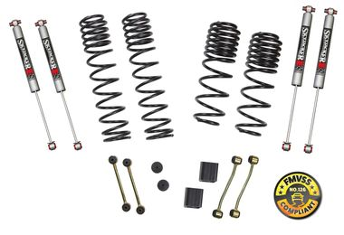 "2.5"" Dual Rate-Long Travel Lift Kit System, JL 2 Door Rubicon (JL20RBPMLT / JM-04520/B / Skyjacker Suspensions)"