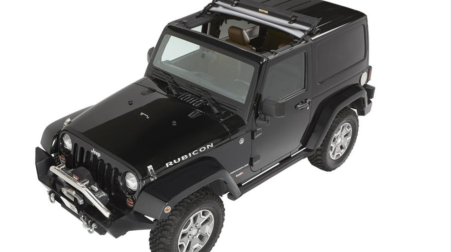 Sunrider for Hardtop, Black Twill (52450-17 / JM-03100 / Bestop)