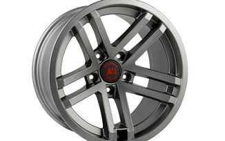 Jesse Spade Wheel, 17X9, Satin Gun Metal (15303.92 / JM-04204 / Rugged Ridge)