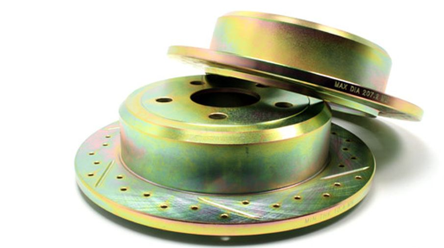 Performance Brake Discs / Rotors (Rear Pair), JK (J5BM47603CDG / JM-04461 / Terrafirma)