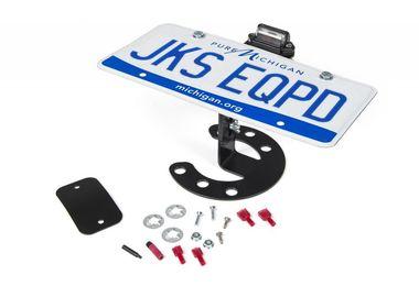 Spare Tire License Plate Mount (8211 / JM-02805 / JKS Manufacturing)