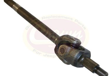 Axle Assembly (Front Left), JK Rubicon (68017180AB / JM-01777 / Crown Automotive)