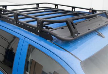 Aluminium Roof Rack, Hilux (2D.5720.1.KIT / SC-00149 / Rival 4x4)