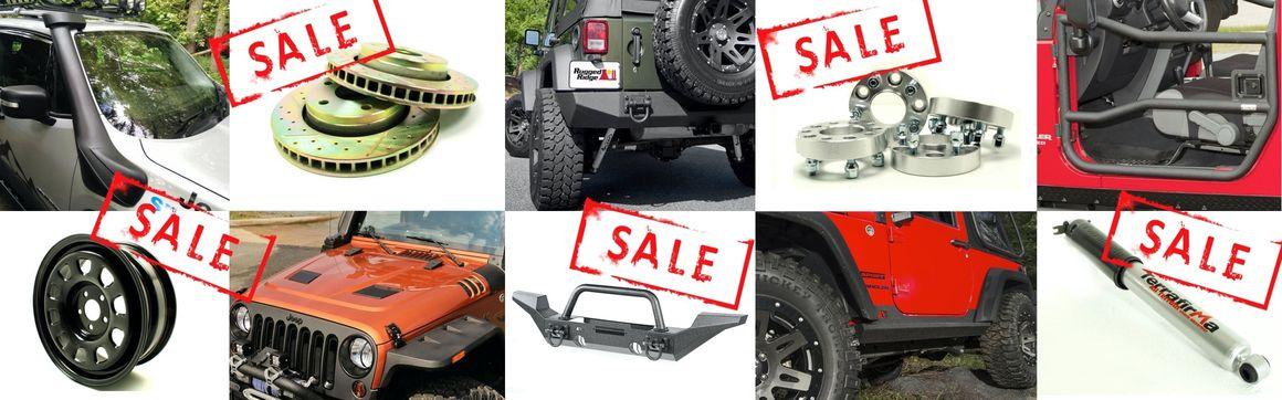 SALE - Big Savings on Jeep Accessories