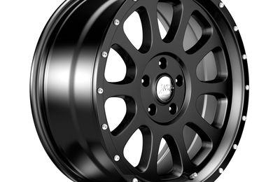 1450 Series Wheel, Black 20x8.5 (ET32), JL (1450.20 / JM-04548 / DuraTrail)