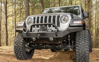 Front Recovery Bumper, HD Full Width, JK, JL (11540.31 / JM-04721 / Rugged Ridge)