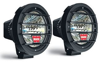 "7"" HID Driving Lights x 2 , Warn (82405 / JM-02093 / Warn)"