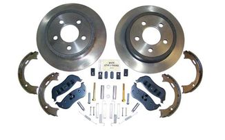 Disc Brake Service Kit (Rear KJ & TJ) (52128411K / JM-00556 / Crown Automotive)