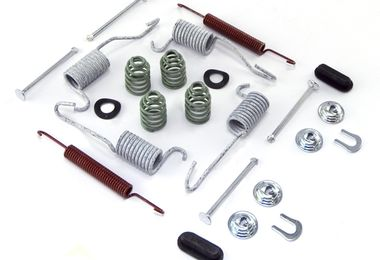 Drum Brake Hardware Kit, Rear, 9 Inch (16738.03 / JM-02659 / Omix-ADA)