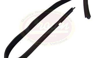 Door Glass Seal (Front Right) (55136024AG / JM-03514 / Crown Automotive)