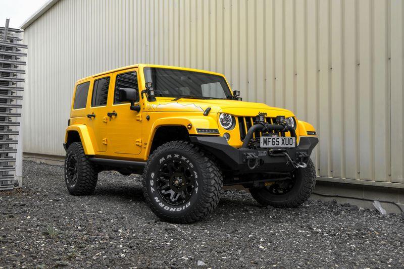 STORM-52, 2015 Baja Yellow Jeep Wrangler X-Edition 4 Door 2.8 CRD
