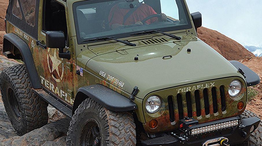 Flat Fender Jeep >> Mce Flat Fenders Jk Oe Width