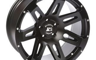 XHD Aluminum Wheel, Black Satin, 20X9 (15306.01 / JM-04514 / Rugged Ridge)