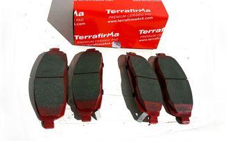 Front Ceramic Brake Pad Set, XK, WK (UDB4002TF/ 5080868AA / JM-05394 / Terrafirma)