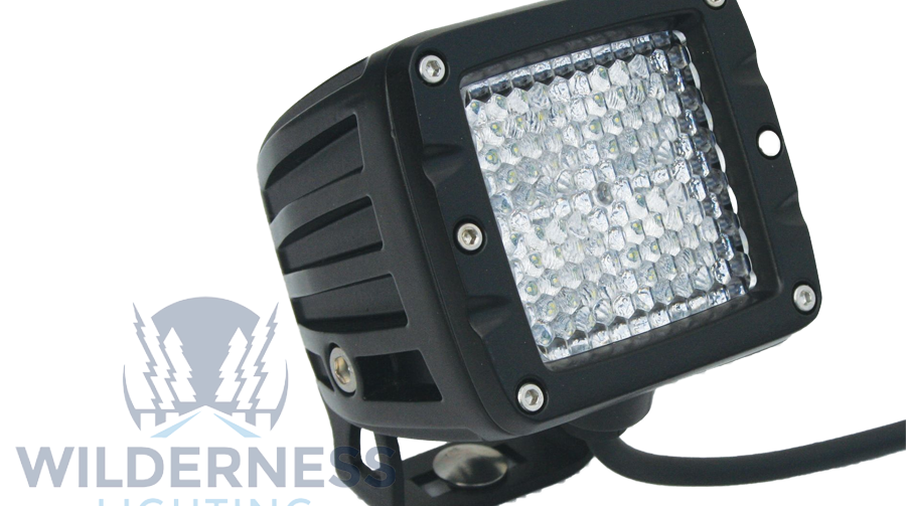 Compact 4 LED Light - Diffused Beam (WDD0296 / JM-04865 / Wilderness Lighting)