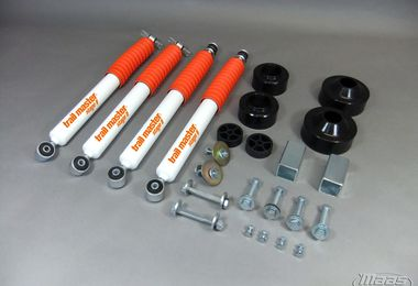 "2"" Spacer Lift Kit (Wrangler JK) (S05229 / JM-01949 / trail master)"