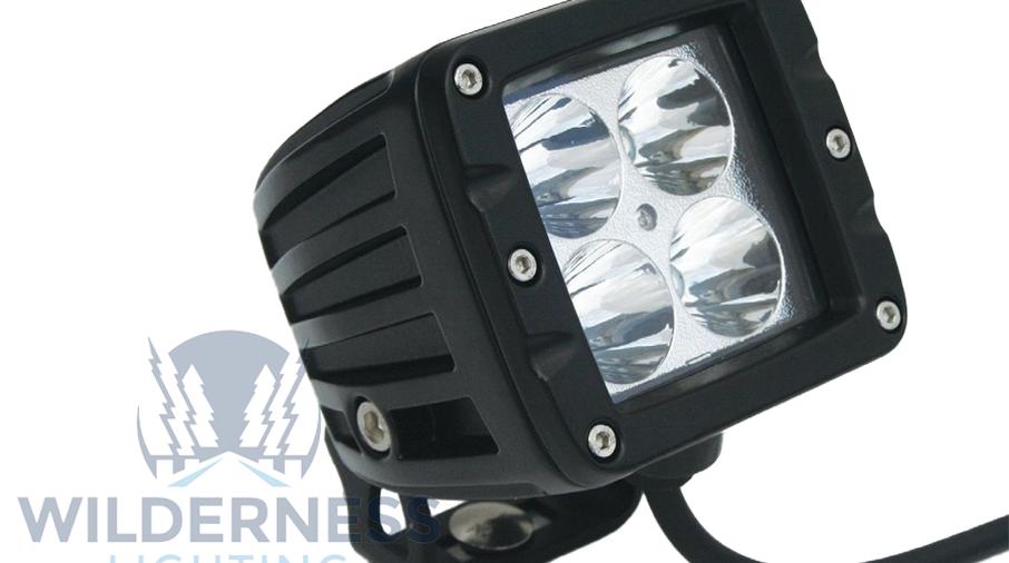 Compact 4 LED Light - Flood Beam (WDD0039 / JM-04864 / Wilderness Lighting)