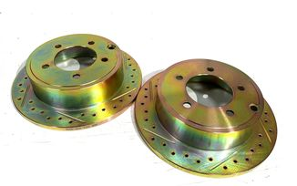 Rear Performance Brake Discs / Rotors, MK 262mm (J3BM47544/ 5105515AA / JM-05392 / Terrafirma)