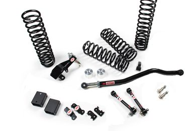 "2.5"" Suspension Lift, JK, 4 Door  (No Shocks) (106KN / JM-04017 / JKS Manufacturing)"