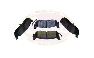 Rear Brake Pad Set, WK & XK (5080871AA / JM-02844 / Crown Automotive)
