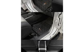 Floor Liner, F/R; Blk (2Dr) (12987.02 / JM-04139/A / Omix-ADA)