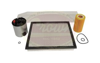 Master Filter Kit (MFK2 / JM-01071 / Crown Automotive)
