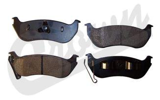 Rear Disc Brake Pad Set (KJ) (5083882TI / JM-00144 / Crown Automotive)