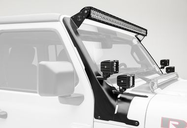"52"" Roof Light and 3"" Cube Light Kit, JL, JT (Z374831-KIT4 / JM-04510 / ZROADZ)"