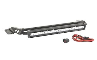 "Hood Light Bar Kit, 20"" LED Light Bar, TJ (11232.16 / JM-04303 / Rugged Ridge)"