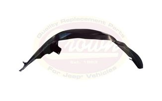 Fender Liner (Front Left), WJ (55136229AC / JM-03988 / Crown Automotive)