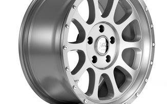 1450 Series Wheel, Silver 18x8.5 (ET12) (1450.41 / JM-01439 / DuraTrail)