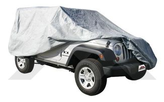 Full Car Cover (JL, JK & Renegade) (FC10309 / JM-04987 / Crown Automotive)