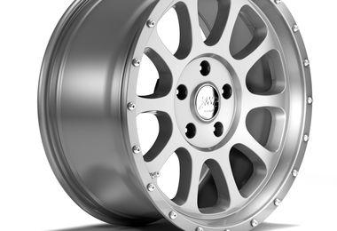 1450 Series Wheel, Silver 17x8.5 (ET32), JL (1450.02 / JM-04559 / DuraTrail)