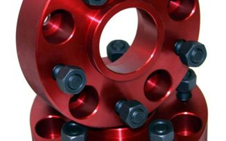 """Wheel Spacers, 5x5, 1.5"""" Wide (11300 / JM-03145 / Alloy USA)"""