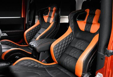 Leather Front & Rear Seat Package (GTBFR / JM-02529 / Chelsea Truck Company)