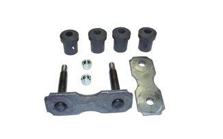 Front Leaf Spring Shackle Kit, CJ (5357620K / JM-00170 / Crown Automotive)