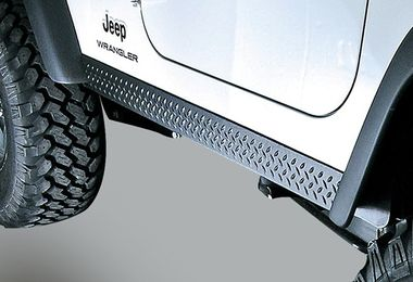 Rocker Side Panels, Body Armor, TJ (11650.05 / JM-02180 / Rugged Ridge)