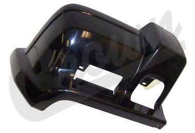 Bumper Cap (Flat Black-Front Right) (5DY00TZZAC / JM-04981 / Crown Automotive)