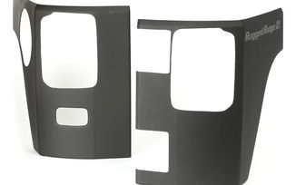 Rear Corner Guards, Matte Black, JK, 2 Door (11651.07 / JM-02819 / Rugged Ridge)