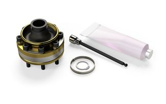 Rzeppa High-Angle Factory Replacement Front Prop CV Joint Kit, JK (1744014 / JM-04521 / TeraFlex)