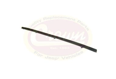 Door Glass Inner Weatherstrip (Right) (J5762384 / JM-01744 / Crown Automotive)