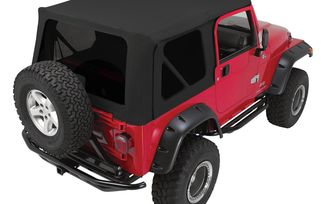 Complete Soft Top, Black Diamond, TJ (CT20435T / JM-05311 / Crown Automotive)