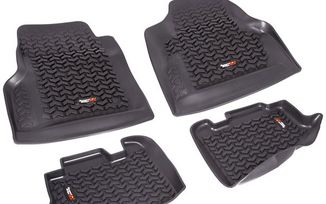 Floor Liner Kit, Front & Rear, TJ (12987.10 / JM-02361 / Rugged Ridge)