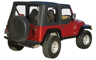 Fabric Top with Door Skins, TJ (97-06) (RT10315 / JM-05310 / RT Off-Road)