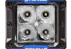 S4 GEN3 LED Spot Lights, 2x2 Square (76414P / JM-05874 / Pro Comp)