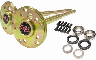 Dana 44 35 Spline Placer Gold Rear Chromoly Axle Kit (JM-04154 / 196-2052-002 / G2 Axle & Gear)