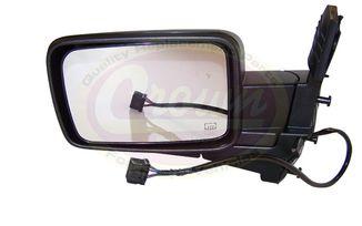 Mirror (Electric- Left), Commander (55396637AD / JM-02476 / Crown Automotive)