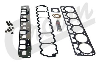 Gasket Set (Upper), 4.0L (5012365AD / JM-04031 / Crown Automotive)