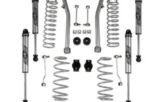 "2.5"" Super-Ride Lift Kit with Monotube Shocks, JL 4 Door (JL7100NR / JM-04517 / Rubicon Express)"