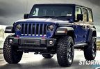 Front Recovery Bumper, Spartacus Stubby, JL (11544.24 / JM-04470 / Rugged Ridge)